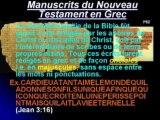 La Certitude des Saintes Écritures 2ème partie