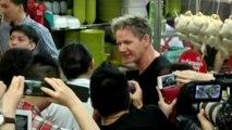Gordon Ramsay stirs up enthusiasm in Singapore