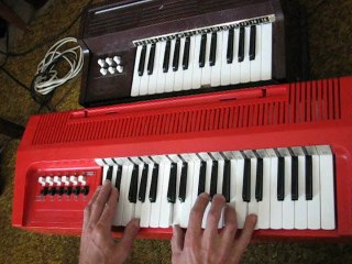 Harmonium Magnus Organ model 300 and 421
