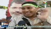 Simpatizantes de Mursi exigen su restitución