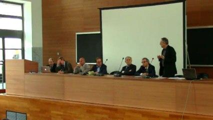 Sessione d'apertura: Intervento di Francesco Cellini (Preside Facoltà di Architettura, Roma TRE)