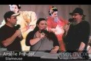 SoloVox poésie musique slam - 17 - Amélie Prévost - Poézik-(Léo Ferré)