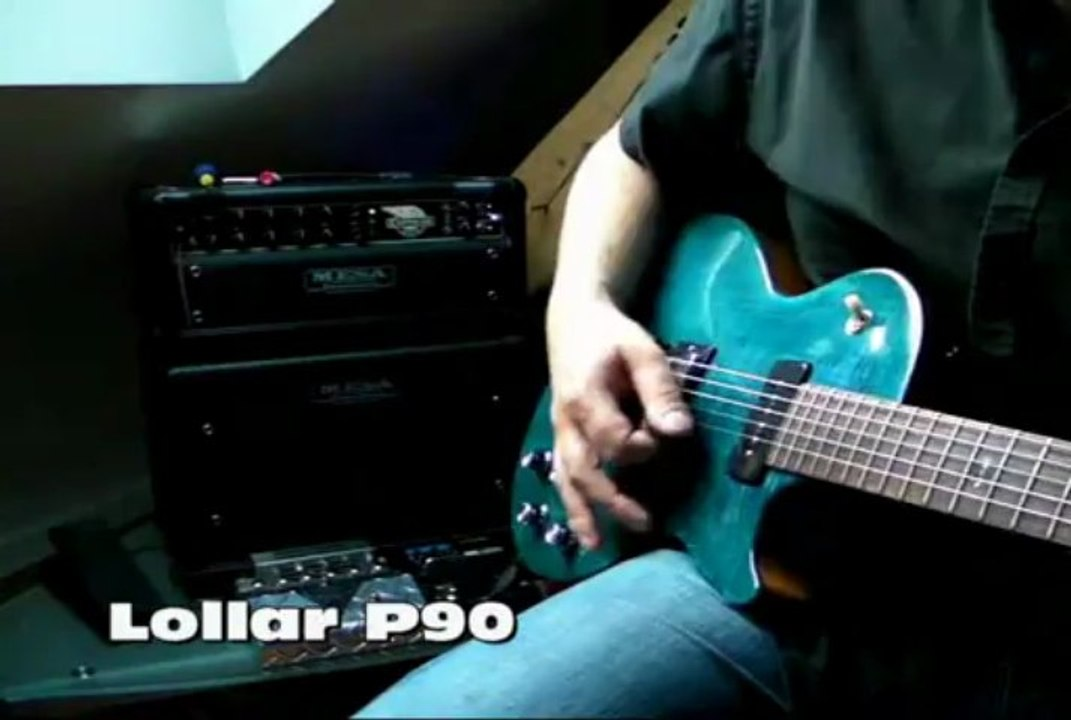 Gibson Les Paul, Pickup's P90 : GIBSON Vs  LOLLAR