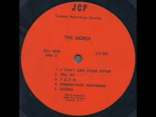 The Horde  Smokestack Lightning 1967