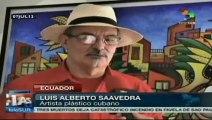 Recuerdan en Ecuador al pintor Oswaldo Guayasamín