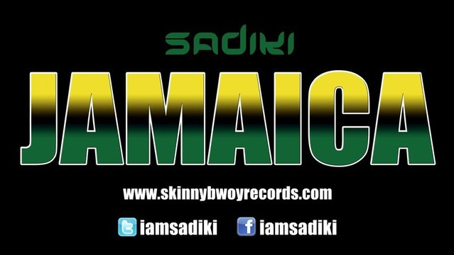 Sadiki - Jamaica (Reggae Mix) Official Music Video [HD] Skinny Bwoy Jamaica