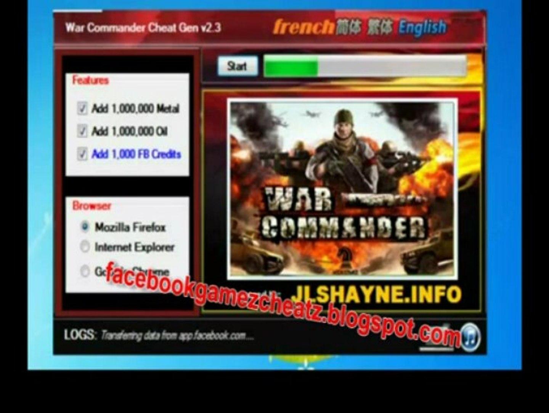 War commander snyde gratis download - war commander  engañar descarga gratuita 2013