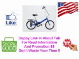 [CHEAP PRICE] Verso Cologne 7-Speed Aluminum Folding Bike, 20-Inch, Blue [USA SALE]