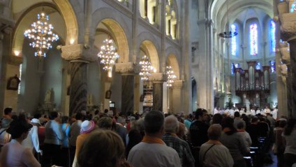 Diocèse de Nice - Messe ouverture du pèleriange à Lourdes