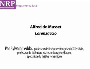 Les contextes d'écriture de Lorenzaccio - Sylvain Ledda