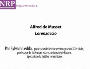 La structure de Lorenzaccio - Sylvain Ledda