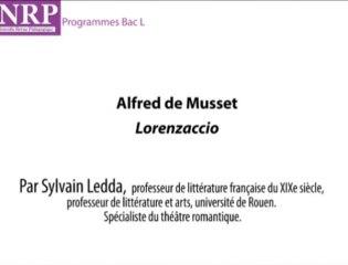 Lorenzaccio : des personnages ambigus - Sylvain Ledda