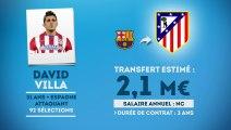 Officiel : David Villa signe à l'Atlético Madrid !
