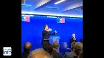 """Sarkozy à l'UMP : """"J'ai rompu ma décision de me retirer de la vie politique"""""""