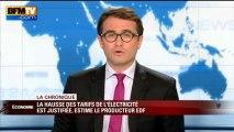 Chronique éco d'Emmanuel Duteil: la hausse des tarifs de l'électricité - 09/07