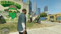 Grand Theft Auto V - GTAV - Trailer Gameplay HD FR