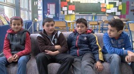 Scolarisation des enfants Roms mode d'emploi, école Marie Curie de Bobigny