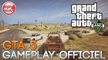 ►GTA 5◄ 1er Gameplay ! - Vidéo Officielle ★ Grand Theft Auto V ★ RockStar Game ★ FR Français