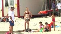 Social : Le centre de loisirs de la police quitte la Mosson et prend ses quartiers d'été à la plage