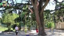 Plein les mirettes 2013 - Atelier Grimpe d'arbres