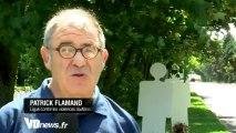 ITW Patrick Flamand - Des silhouettes contre les violences routières du Val-d'Oise