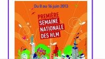 Présentation de la première Semaine Nationale des HLM à Colombes