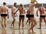 World's first nude ocean swim