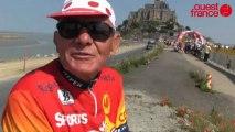 Le Tour de France au Mont Saint-Michel : l'art de bien se placer