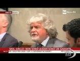 """Grillo furioso con i giornalisti: """"E' colpa vostra"""" - VideoDoc. Il comico urla in conferenza stampa: """"Siete finiti"""""""
