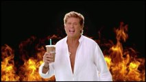 """David Hasselhoff chante """"Thirsty for Love""""... pour une pub"""
