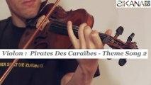 Cours violon : Pirates des Caraïbes thème 2 - HD
