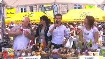 Tour de France 2013 - étape Avranches - le Mont-Saint-Michel : les ambassadeurs de la Manche