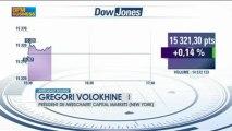 Les marchés dans l'attente des propos de Bernanke : Gregori Volokhine, Intégrale Bourse - 10 juillet