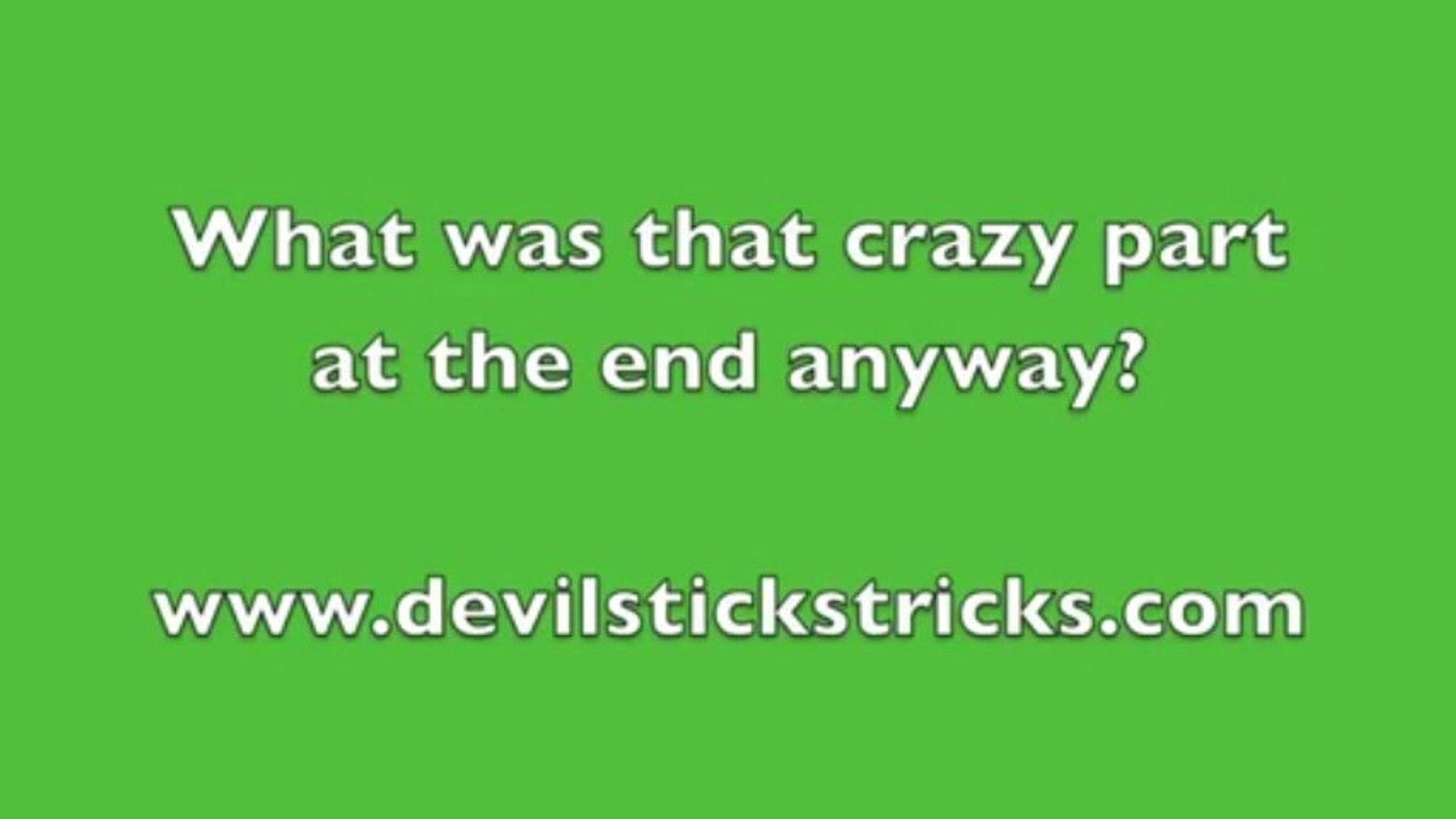 My Devil Sticks Tutorials: Expert Devil Sticks Tutorials in Slow Motion