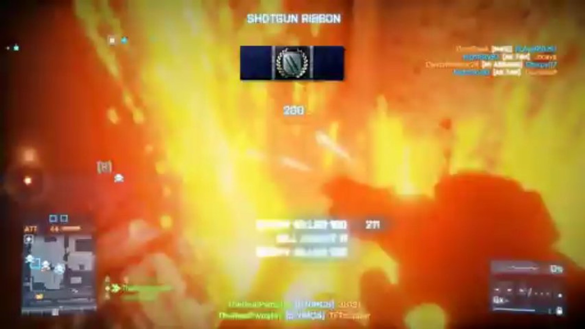 Battlefield 3 870 MCS Gameplay