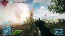 BF - Battlefield 3 Private Servers   Console 32 Players   Cheating   Xbox PS3 Gameplay
