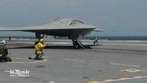 Un drone américain atterrit sur un porte-avions pour la première fois dans l'histoire