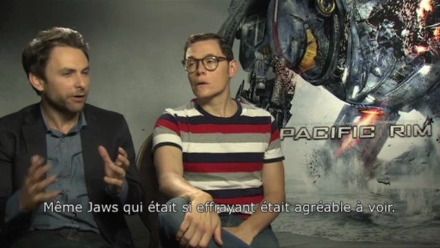 Interview Pacific Rim : Idris Elba, Rinko Kikuchi, Charlie Day & Burn Gorman