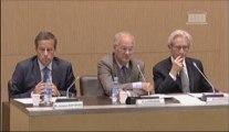 10 juillet 2013, Bertrand Pancher en commission de développement durable et commission des finances auditionne Monsieur Jacques Rapoport, Président de RFF