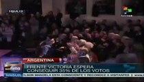 Argentina: senador Filmus dice que ganará elecciones