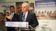 «Bonne chance !»: inauguration du lycée Français Anna de Noailles à Bucarest