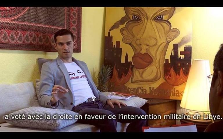 Entrevista con Vincent Lapierre acerca del chavismo en Francia