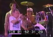 Nirvana - Smells Like Teen Spirit With Flea Playing Trumpet (Hollywood Rock Fest Brazil January 23 1993)
