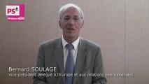 Fonds européens 2014-2020 : Rhône-Alpes au rendez-vous - Bernard SOULAGE