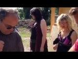 Reportage: atelier peinture écolo aux Jardins solidaires