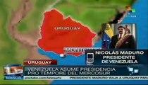 Presidente Maduro asumirá presidencia pro-témpore de Mercosur