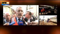 Guillaume Pépy, président de la SNCF, s'exprime après le déraillement d'un train à Brétigny-sur-Orge - 12/07