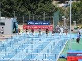 France Espoirs 2013, demi finales et finale 100m haies Sandra