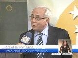 Presidente de Globovisión se reunió con embajador de la Unión Europea