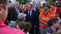 Train derails and crashes outside Paris